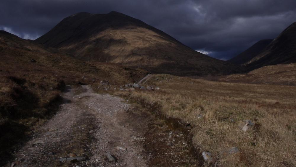 Le Gleann Fionnlighe - soudain en plein coeur des Highlands