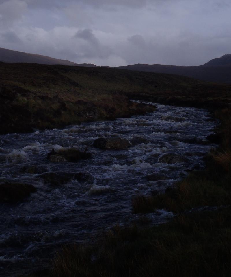 La rivière est en crue !